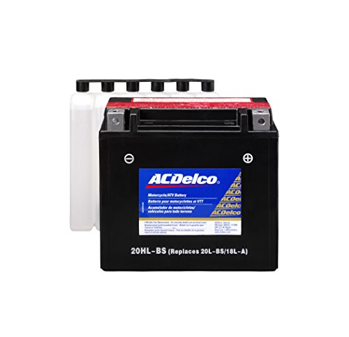 ACDelco ATX20HLBS Specialty AGM Powersports JIS 20HL-BS Battery All Terrain Cross Country Skis