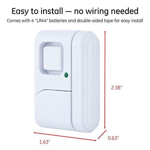 GE Personal Security Window/Door Alarm 4