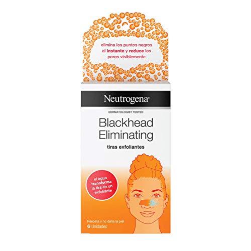 Neutrogena Blackhead Eliminating Tiras Exfoliantes - 6 Unidades