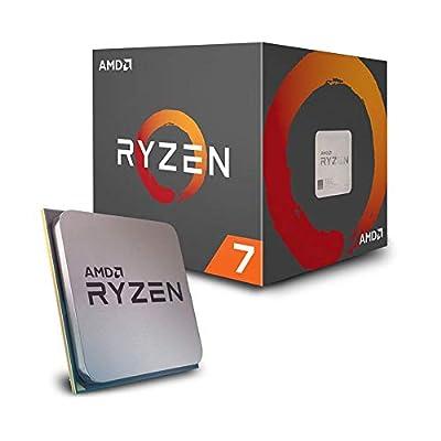 AMD Ryzen 7 2700 - Procesador con disipador de calor Wraith Spire LED (20 MB, 8 núcleos, velocidad de 4.10 GhZ, 65 W) 6