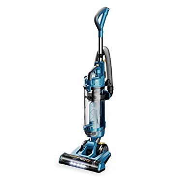Eureka NEU192A Swivel Plus Upright Vacuum Cleaner with Attachments, Deep Ocean Blue
