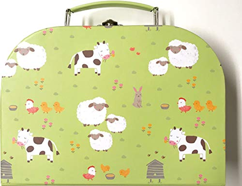 Sass and Belle koffer/kinderkoffer, poppenkoffer, opbergdoos. Kartonnen koffer, 3 verschillende maten. S / Klein…
