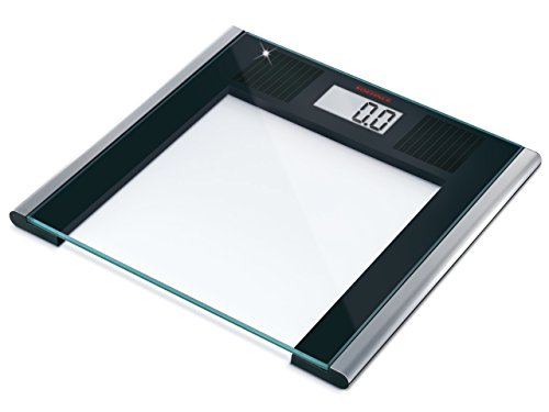 Soehnle Solar Sense Personenwaage LCD-Anzeige 150 kg Tragkraft 100 g Teilung Solartechnik