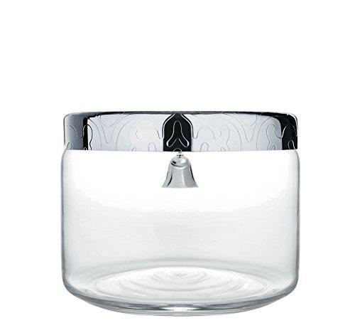 Alessi Dressed Keksdose aus Glas mit Glöckchen