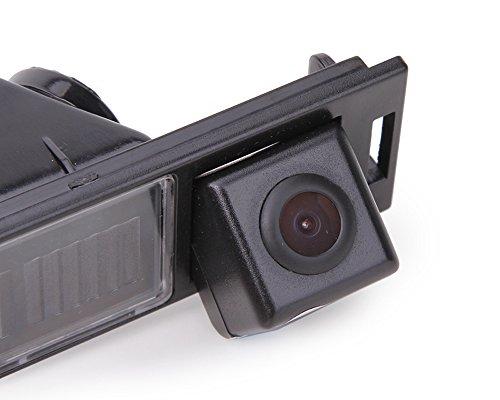 Rückfahrkamera fahrzeugspezifische Kamera unauffällig integriert in der Kennzeichenbeleuchtung Bulli Nummernschildbeleuchtung für IX35 Tucson MK2 2009~2016