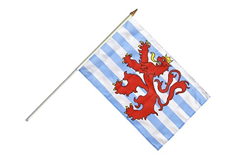 Flaggenfritze® Stockflagge Luxemburg Löwe - 30 x 45 cm