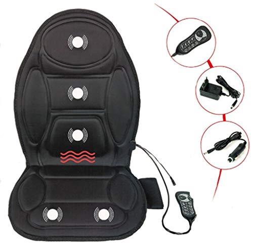 Multifunctionele verwarmde massagestoel intelligent besturing kussen auto stoel massage lenden nekpad overbelasting bescherming apparaat