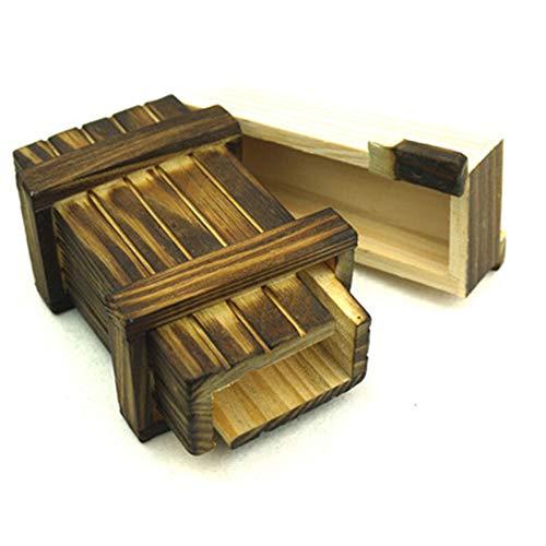 Amasawa Geheimbox, Magische Geschenkbox Aus Holz Für Kreative Geschenke, Schmuck Und Geld