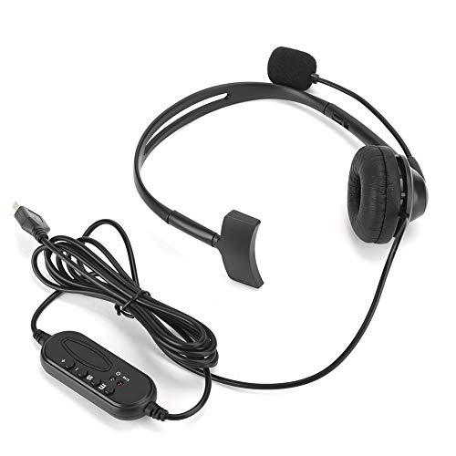 Usb VB‑540 izolacja akustyczna z pojedynczym mikrofonem dousznym miękkie do noszenia słuchawki telefon do biura obsługi klienta