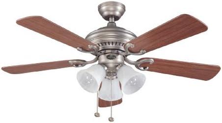 Harbor Breeze 44 Bellevue Antique Nickel Ceiling Fan E Be44an5c Amazon Com