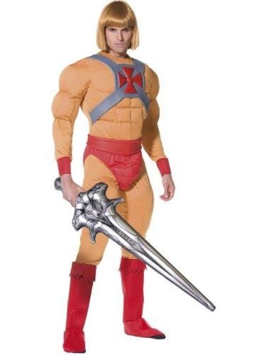 Smiffy's - Disfraz de He - Man para hombre, talla M (34804M)