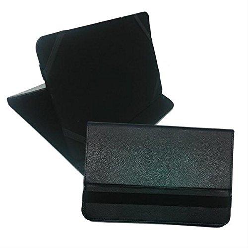 IVSO-Custodia per Tablet 24,64 (9,7 PRIMUX CM, in Pelle, Colore: Nero