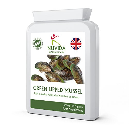 Green Lipped Mussel Capsules / 90 High Strength Capsules/Ethically Sourced Green Lipped Mussel from a Sustainable Environment