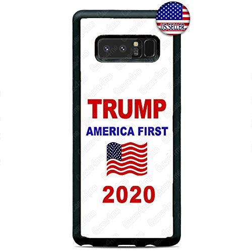 America First President Trump 2020 USA Slim Shockproof Hard Rubber Custom Case Cover for Samsung Galaxy Note 10 10+ 9 8