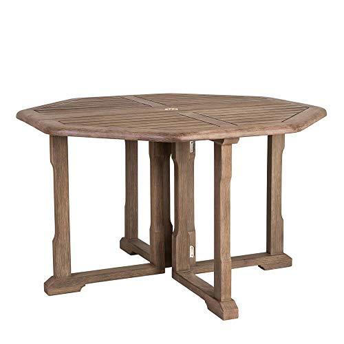 Tavolo da Giardino Ottagonale in Acacia - 120cm - Tavolo da Giardino Galton