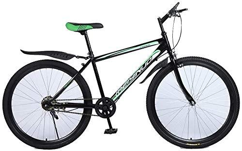 Bicicleta de montaña plegable de 26 pulgadas, 21/24/27 velocidades, frenos de disco duales, para carreras, carreras, BMX, 27 velocidades, 21 velocidad.