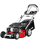 Greencut GLM770SXE - Cortacésped autopropulsadocon motor de gasolina de 165cc y 6cv y arranque eléctrico, con un ancho de corte de 483mm (o 19') de tipo rotativo