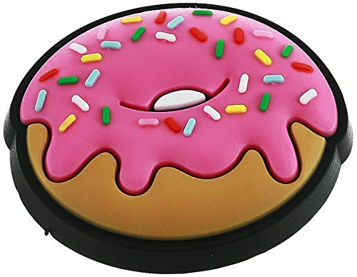 Crocs Jibbitz Sweets Shoe Charms | Jibbitz for Crocs, Pink Donut, Small