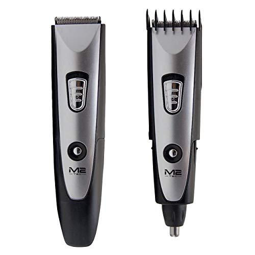 Oramics 4in1 Haarschneider – Haarschneidemaschine, Bartschneider, Ohr- und Nasenhaartrimmer in Einem – Timmer mit verstellbarem Aufsatz – Akku und Netzteilbetrieb möglich – Ideal für Reisen