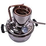 Destilador de alcohol 10L Home Brewing Kit, StainlessCopper ZHNGHENG
