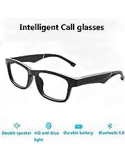 ブルートゥース5.0スマートメガネオープンオーディオステレオスピーカーマイクアンチ青色光交換レンズのサングラスサスペンションシステムワイヤレスヘッドフォン