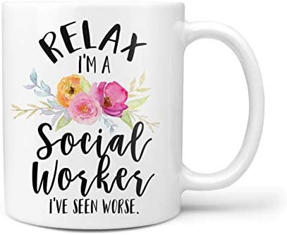 Social Worker Mug Funny Social Worker Mug Social Worker Month Gift product image