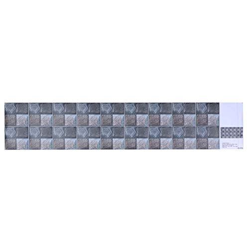 Haofy Adhesivo de azulejo de Pared Impermeable de PVC, Adhesivo Decorativo Autoadhesivo, Papel Tapiz para pelar, decoración para baño, Cocina, Fondo