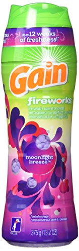 Gain Fireworks Laundry Scent Booster Beads, Moonlight Breeze Scent, 13.2 Ounce