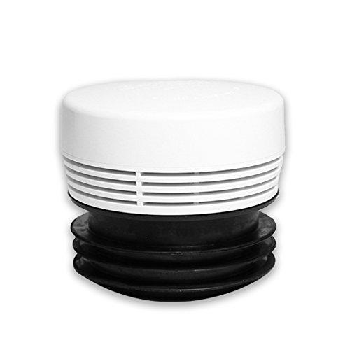 Rohrbelüfter HYPAIR Balance Maxi Hab mit Mehrfachanschluss auf DN 70,75,90 und 100/110mm, Durchfluss 26 l/s