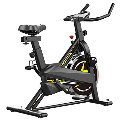 FASFSAF Indoor Exercise Bike, Fitness Stationary Indoor Cycling Bike Belt Drive with Home Cardio Workout Bike Training