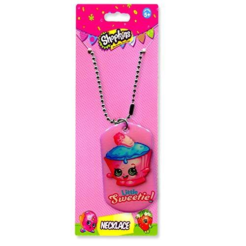 Shopkins Necklace for Girls Cupcake Chic