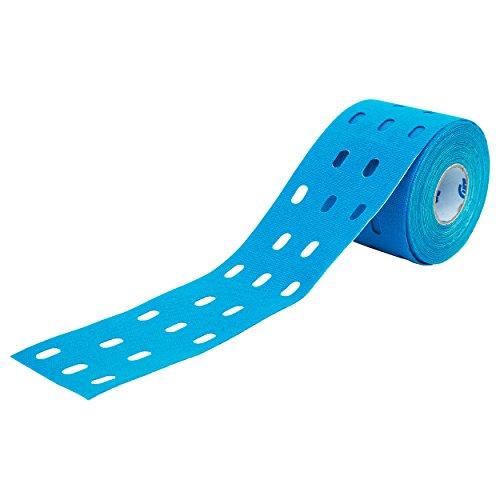 CureTape Punch, Kinesiologie Tape, Sporttape, 5 m x 5 cm, wasserfest, blau