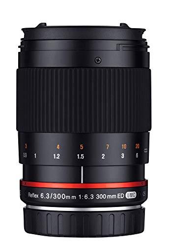 Samyang SAM300NIKON - Objetivo para cámara Nikon, 300 mm, F6.3 ED UMC CS
