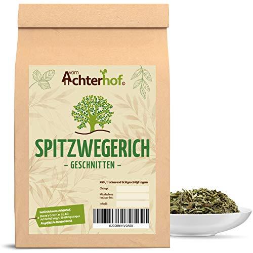 500 g Spitzwegerichblätter geschnitten Juglandis Fol. conc. Spitzwegerich Tee natürlich vom-Achterhof