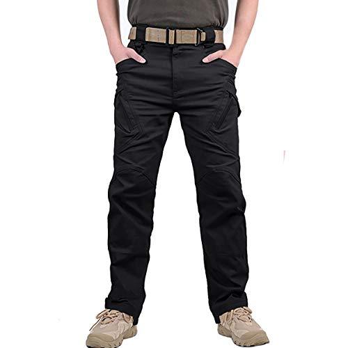 Digralne Pantalones De Carga Pantalón Tactico Hombre PantalóN de Trabajo De Combate Pantalones Militares para Exteriores Acampar Senderismo Caminar