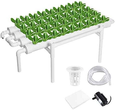 MorNon Hydroponic Grow Kit 36 Site 4 Pipe Hydroponic Growing System for Leafy Vegetables Lettuce product image