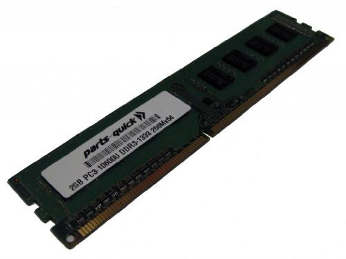 2GB Memory Upgrade for Dell Wyse Z90D7 DDR3 PC3-10600 1333MHz DIMM Non-ECC Desktop RAM (PARTS-QUICK Brand)