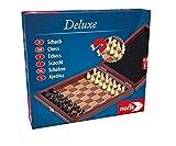 Noris Spiele 606108005 - Scacchi Deluxe, Versione da Viaggio [Lingua Tedesca]