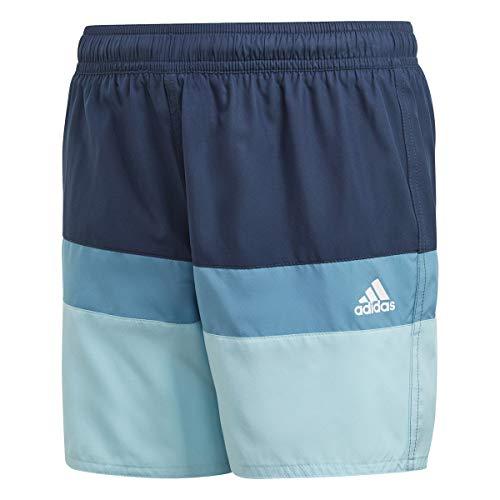 adidas Yb Cb Shorts Unisex Baby Badeanzug, Unisex Baby, Schwimm-Slips, GN5888, Azmatr/Celbru, 164