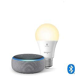 top 10 nti echo 3 Echo Dot (3rd Generation) – Smart Speaker with Alexa – Heather Gray Sengled Bluetooth Lamp