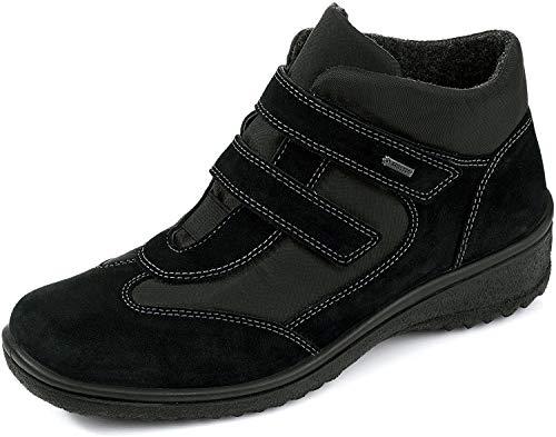 ara München-St-Gor-Tex - Botas de material sintético para mujer negro negro, Negro, 38.5 EU (5.5 Damen UK)