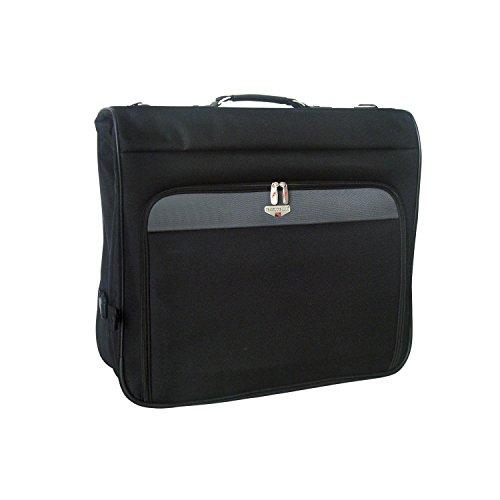 Travelers Club 46-Inch Hanging Garment Bag, Black