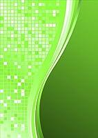 igsticker ポスター ウォールステッカー シール式ステッカー 飾り 841×1189㎜ A0 写真 フォト 壁 インテリア おしゃれ 剥がせる wall sticker poster 001837 その他 シンプル 模様 緑