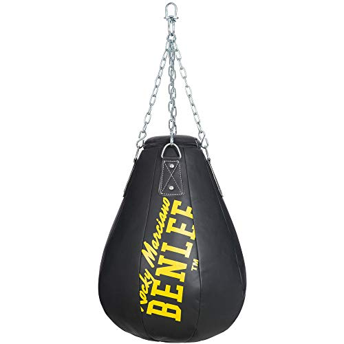 BENLEE Rocky Marciano Unisex– Erwachsene Antonio Maize Bag, Black, 65cm