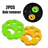 2PCS Pet Hair Remover Cleaning Ball StickyHairBallWashingMachineHairRemover Pet Hair Cleaning Ball Sticky Hair