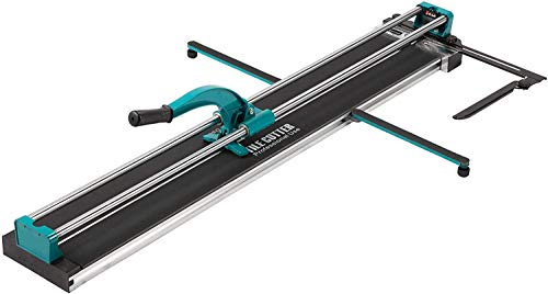 CO-Z Manual Tile Cutter for Home improvement| Hard Alloy Wheel Cutter with Ergonomic Handle for Porcelain Ceramic Tiles| Laser Guided Precision| Adjustable Measurement Ruler| Anti-Skid Feet (48 inch)