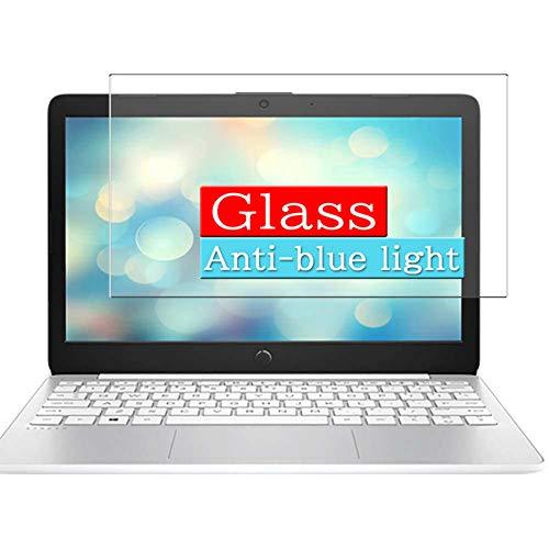 VacFun Filtro Luz Azul Vidrio Templado Protector de Pantalla Compatible con HP Stream 11-ak0009TU 11-ak0010TU 11.6' Visible Area, 9H Cristal Screen Protector(cobertura no completa)