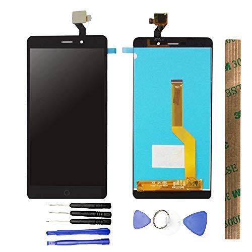 JayTong - visualización LCD y digitalizador de visualización táctil de Repuesto para Elephone P9000 P9000D P9000E / P9000 Lite Negro