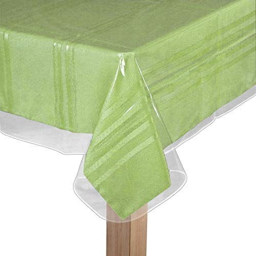 clear plastic table liner - 5