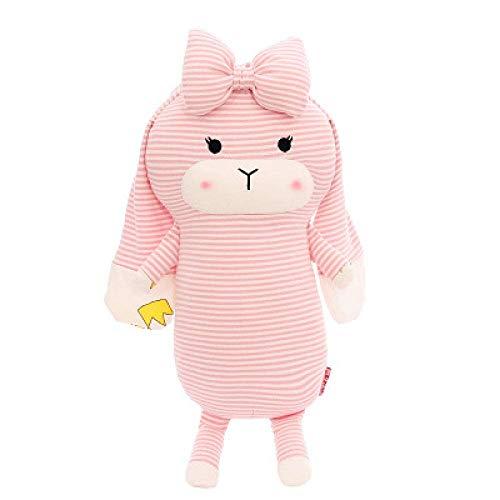 Liyandianzi Startseite Plüsch-Spielzeug-Puppe Miracle Kaninchen 60 cm Rosa Geschenk der Kinder Valentinstag Familie Dekoration Kissen